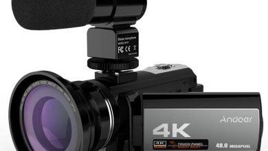 Photo of كاميرا فيديو اقتصادية ومناسبة لتصوير اليوتيوب Andoer