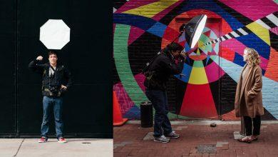 Photo of طريقة مبتكرة لتصوير البورتريه في الشوارع بضوء واحد محمول مع سوفت بوكس