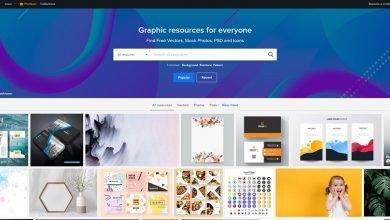 Photo of مواقع مهمة لتحميل تصاميم غرافيك ولوغو وأيقونات مجاناً