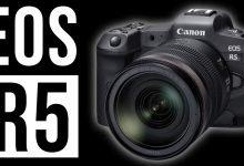 Photo of كاميرا كانون جديدة بدون مرآة Canon EOS R5 ثورة في مجال التصوير